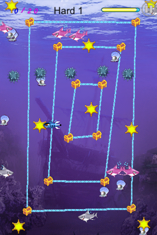 Screenshot Shark's Treasure Free