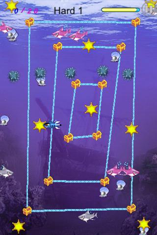 Screenshot Shark's Treasure Free