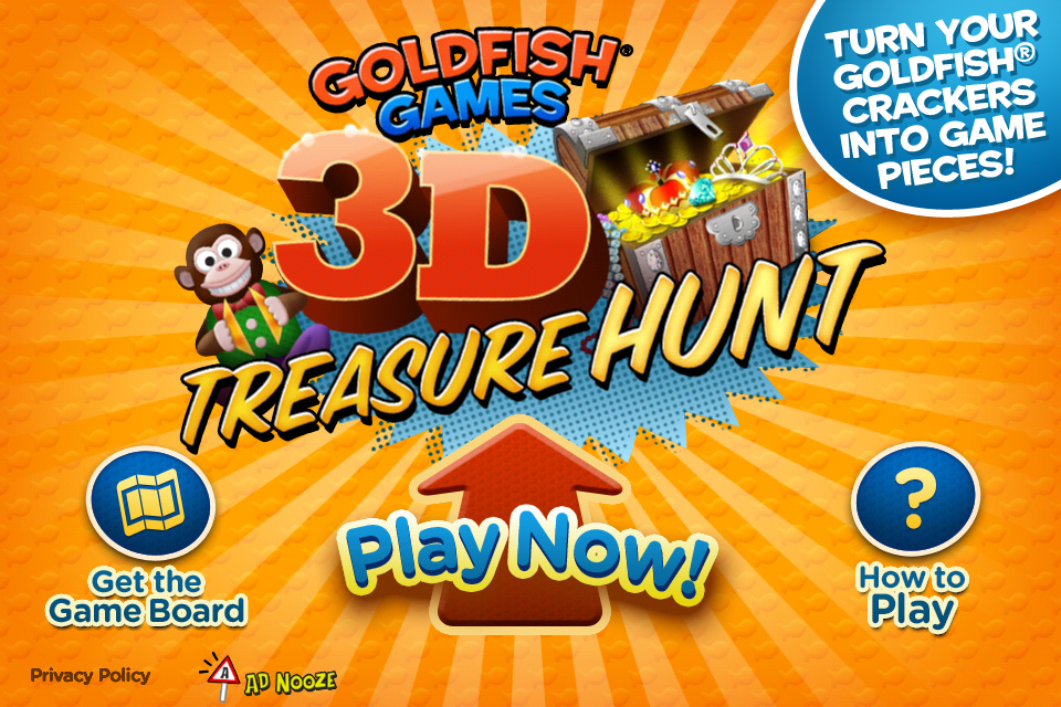 Screenshot Goldfish Games 3D Treasure Hunt