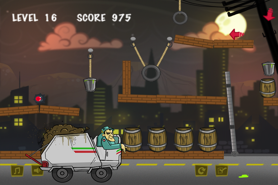 Screenshot Garbage Collector Physics Lite